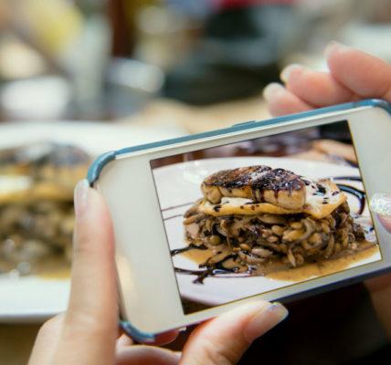 alimentos redes sociales