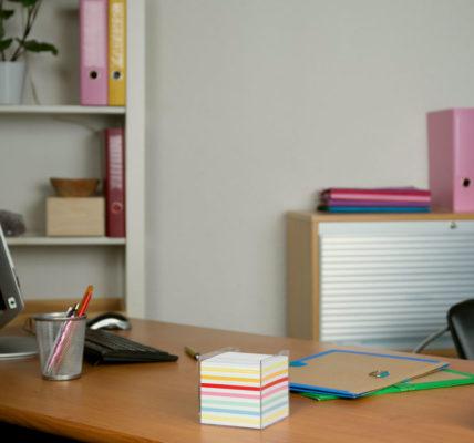 mantener tu lugar de trabajo limpio