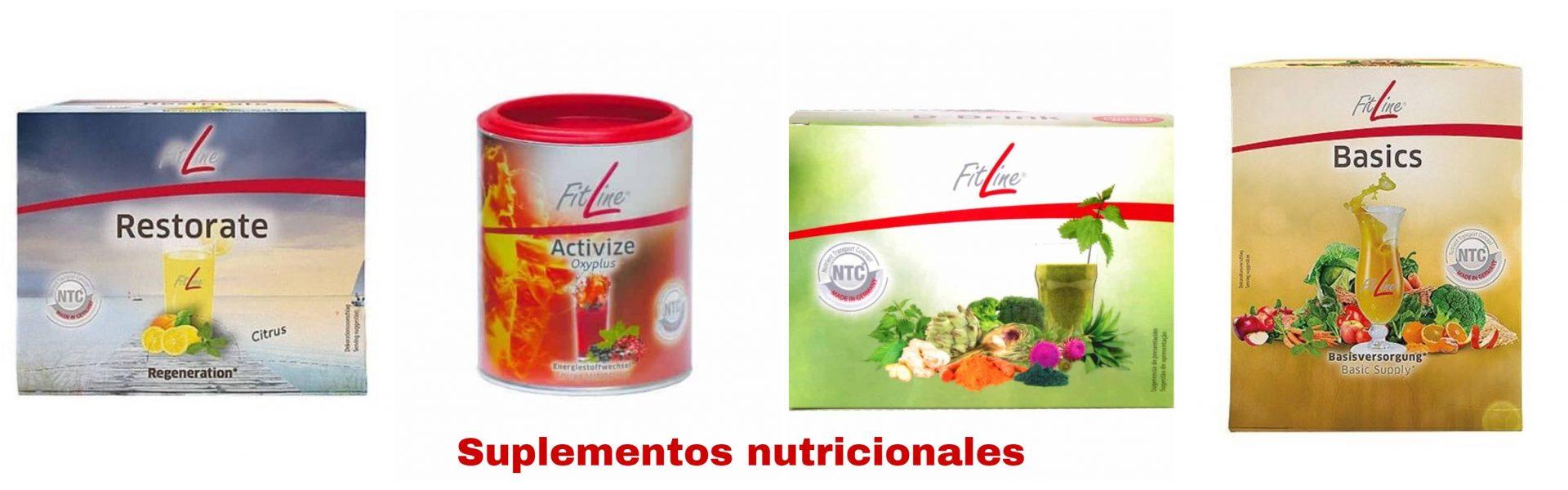 suplementos de nutrición