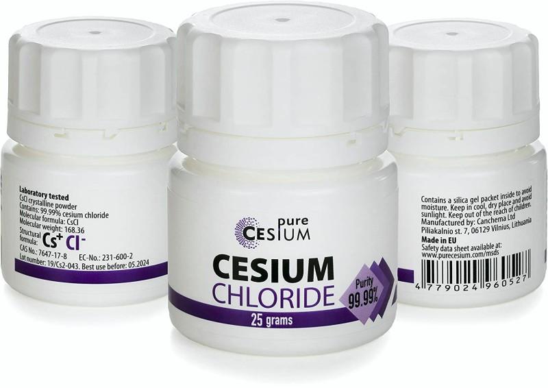 La FDA advierte a 5 compañías que venden suplementos dietéticos que contienen cloruro de cesio