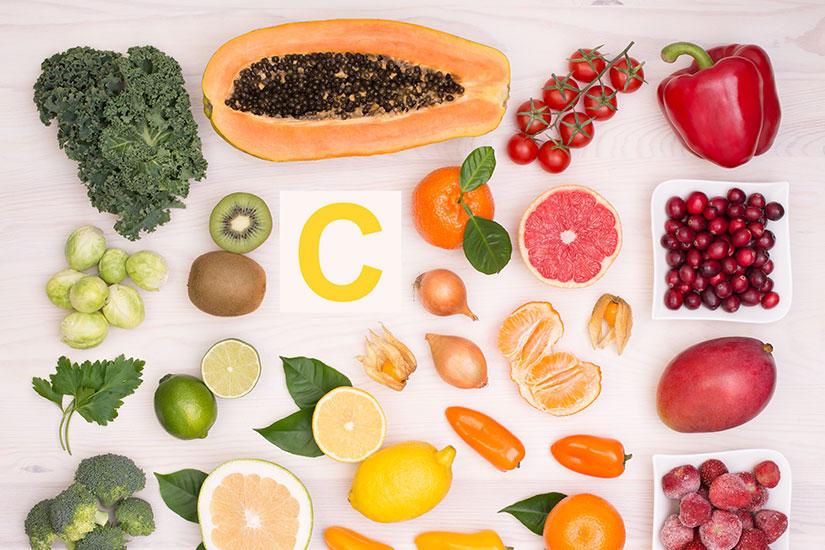 Prevenir afecciones virales con vitamina C natural
