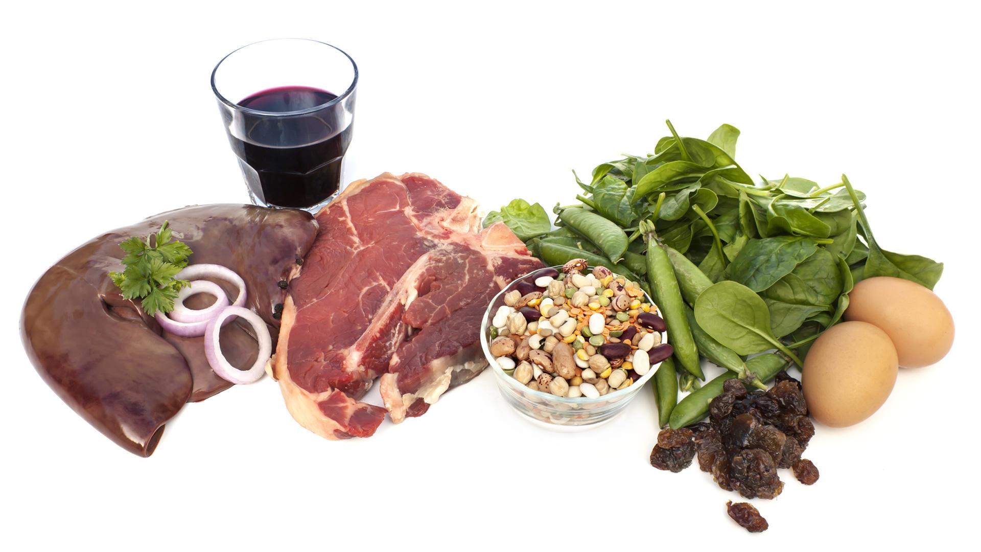 Mantén tu hierro al día con estos consejos alimenticios